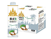 益城泰式生榨果肉椰子汁1Lx6瓶