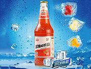 汉斯哈娃岛山楂味碳酸饮料500ml