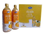 完达山蜂蜜黄桃复合果汁饮料1lx6瓶