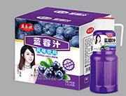 益乐欢蓝莓汁1.5Lx6瓶