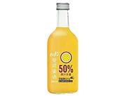 爱说果语百香果复合乳酸菌果汁饮料330ml