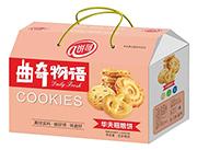 饼哥曲奇物语华夫粗粮饼礼盒