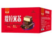 明太郎巧克力味提拉米苏箱装