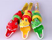 卡库部落鳄鱼钳带玩具糖果