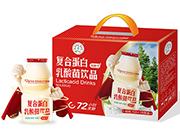 强人低糖型复合蛋白乳酸菌饮品108ml×28瓶装