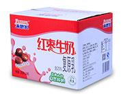 来思尔红枣牛奶200g