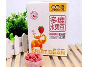 甄育草莓味多�S水果豆18g