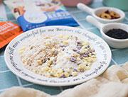 百家赞坚谷早餐奶定量装实物图