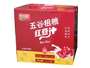 世鸿五谷粗粮鲜磨红豆饮品1L×6瓶