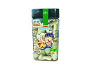卡通世界�w�i�b松脆蘑菇力青�O果味128g