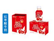 四季阳光红枣酸牛奶350ml