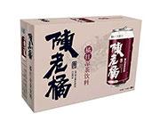 陈老橘橘红凉茶饮料310mlx24罐