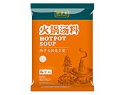 华程肥羊王微辣火锅汤料(4包料)