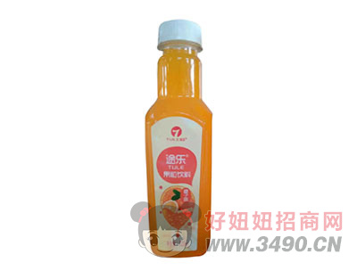途乐果粒饮料橙味520ml
