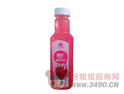 途乐果粒饮料草莓味520ml草莓味