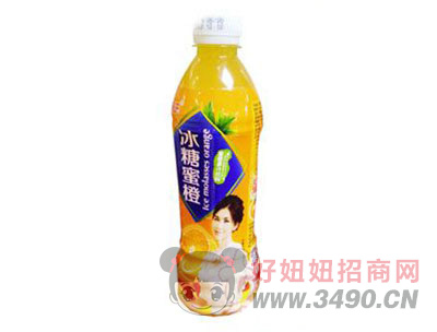 途乐冰糖蜜橙500ml