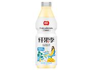 品�R�w果季芒果奶昔1.5L塑料瓶