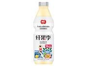 品汇纤果季百香果奶昔1.5L塑料瓶