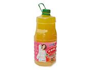 2.5L华人牛水蜜桃果味饮料