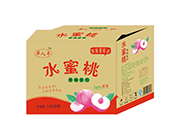 2.5Lx6瓶华人牛水 蜜桃