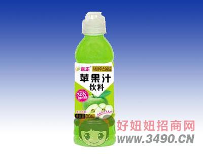 途乐苹果汁饮料600ml