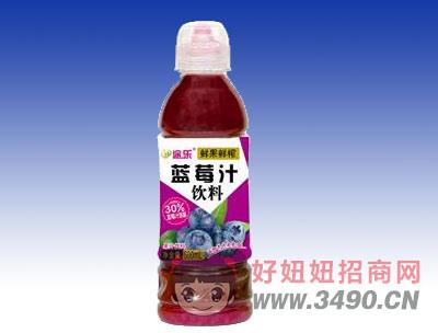 途乐蓝莓汁饮料600ml