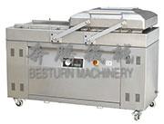 DZP(Q)-700+2SB双室平板真空(充气)包装机