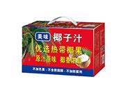 美味优选热带椰果椰子汁植物蛋白饮料箱装