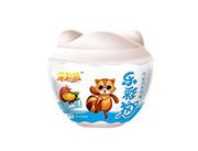 乐彩猫系列巧克力牛奶味+多重玩具27gX12个X8盒(蓝)