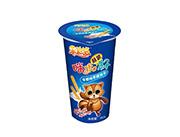 �凡守�巧克力味蘸�u杯手指�干36g(48盒/箱)