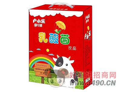 卢小乐乳酸菌饮品礼盒200ml×16瓶