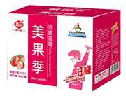 修花美果季冷榨草莓汁果汁饮料500ml×15瓶