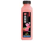 修花美果季冷榨草莓汁果汁饮料500ml