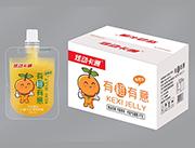 炫彩卡通香橙味可吸果冻5kg