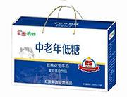汇源农谷中老年低糖核桃花生牛奶复合蛋白饮品250mlx12盒蓝礼盒