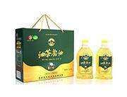 野岭油茶籽油1L两瓶