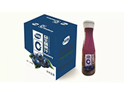 益生菌果汁加州蓝莓1.25LX6瓶