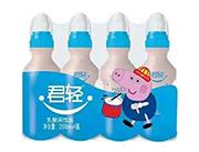 君轻乳酸菌饮料200mlx4瓶