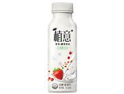 植意草莓椰果奶昔发酵果粒奶昔310ml