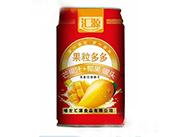汇源果粒多多+椰果罐头