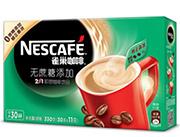 雀巢无蔗糖添加2合1咖啡330g