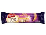 雀巢��脆悠味真紫薯��谷威化�干