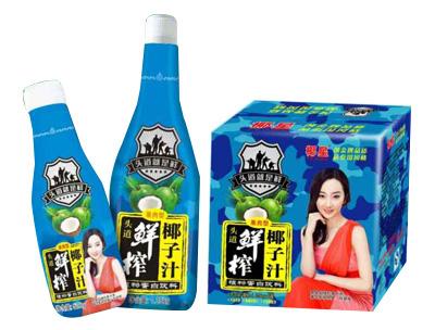 椰星头道鲜椰子汁(果肉型)1.25kg×6瓶500g×15瓶