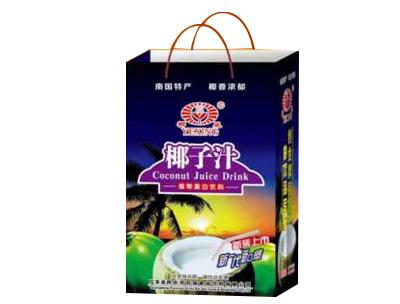 椰星椰子汁245mlx20x24罐手提袋