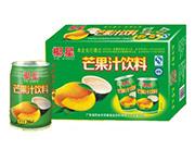 椰星芒果汁饮料250ml×12x20x24罐