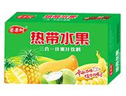 芒果树热带水果3合1果汁饮料