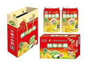 芒果树热带水果4合1果汁饮料