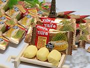 榴莲糖-休闲零食榴莲味水果软糖