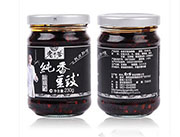 老干爹纯香风味豆豉油辣椒酱230g