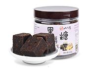 黑糖姜茶 天然手工熬制黑糖快250g 滋�a姜糖